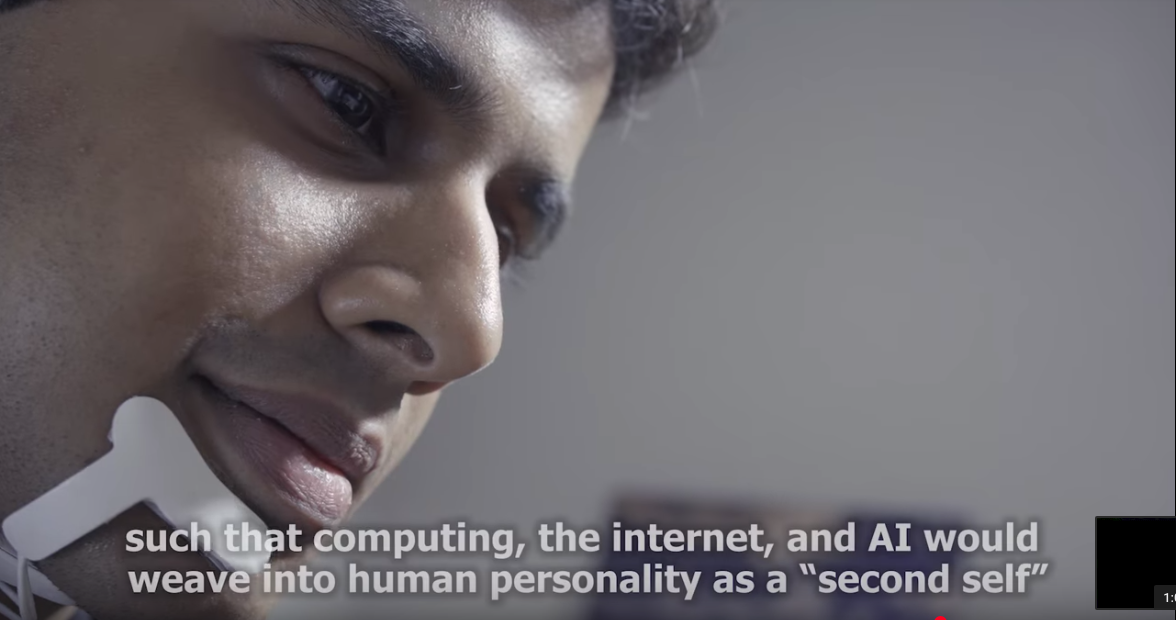 AlterEgo, the headset that listen to your internal verbalization